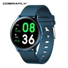 COBRAFLY KW19 ساعة ذكية الرجال أندرويد IOS مقاوم للماء smartband smartwatch الفرقة جهاز تعقب للياقة البدنية الذكية الفرقة الرياضة ساعة النساء