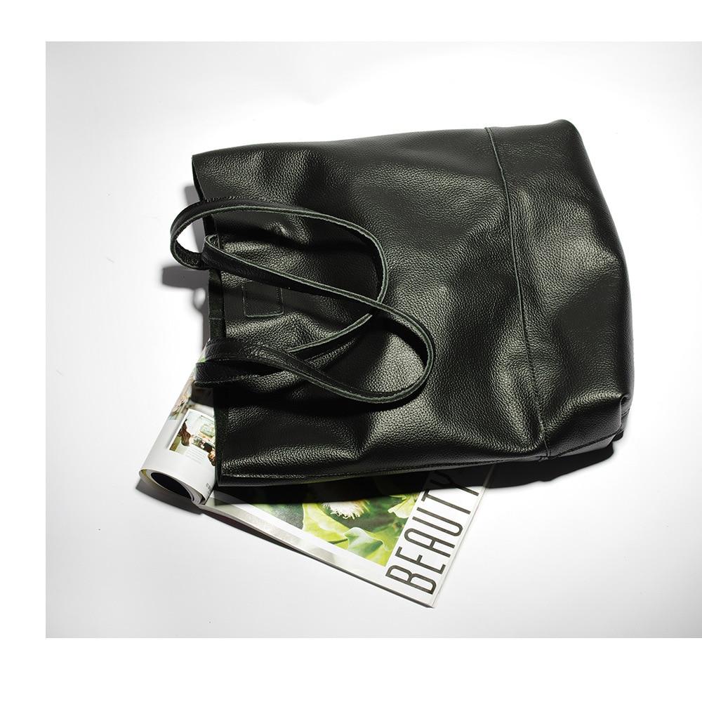 women handbags genuine leather female messenger bags designer casual ladies tote bags Bolsa Feminina (3)