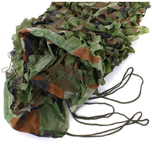 Heißer 7m x 1,5 m Woodland Camouflage Net Schießen Verstecken Armee Net Jagd Camo Netting