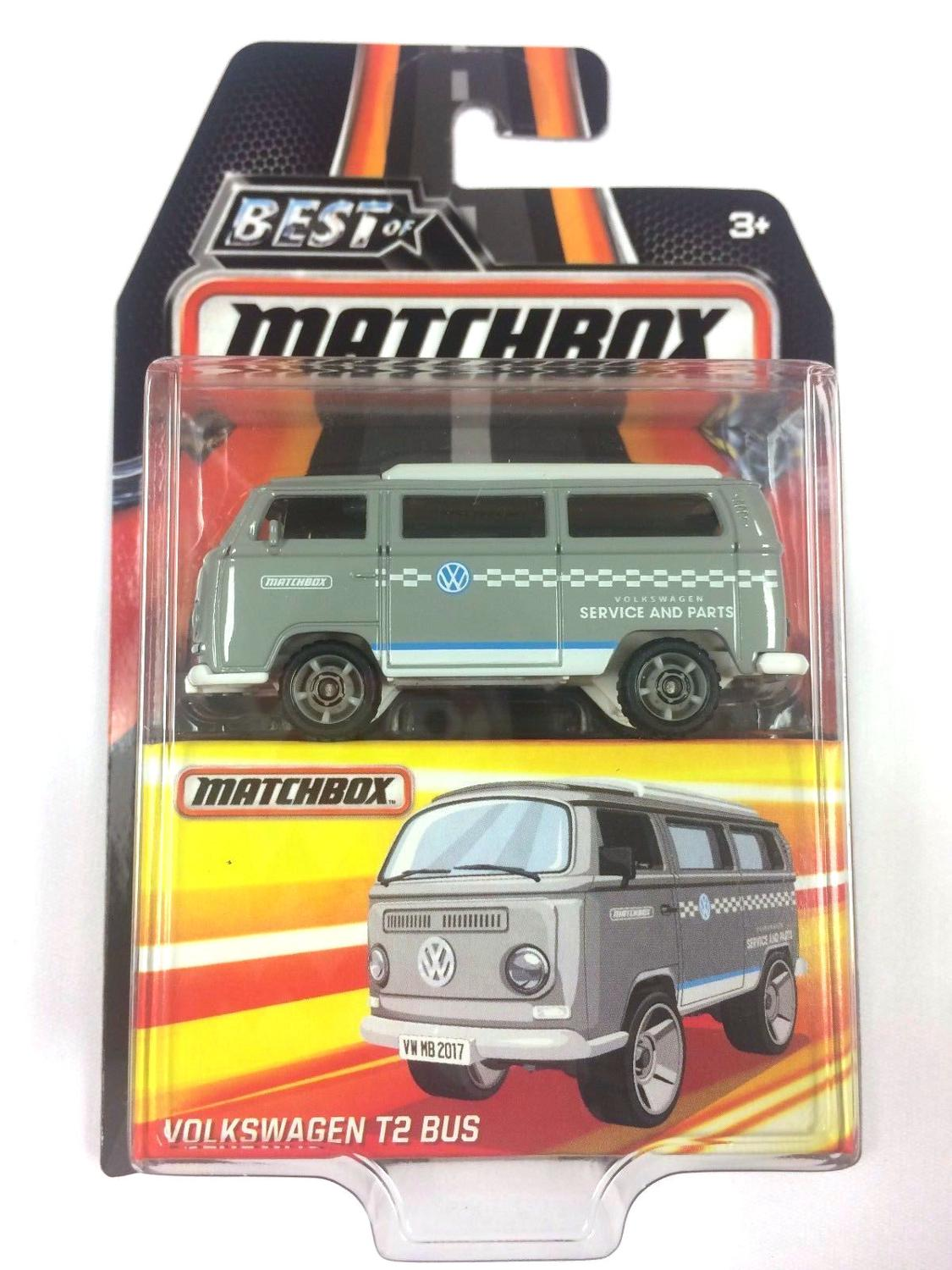 2019 Matchbox Car 1:64 Sports Car VOLKSWAGEN T2 BUS Collector Edition BEST OF Metal Diecast Model Car Kids Toys Gift