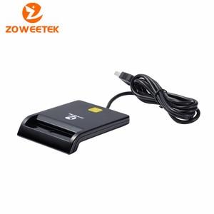 Image 3 - Genuine  Zoweetek 12026 1  New Product for  USB EMV Smart Card Reader  for ISO 7816 EMV Chip Card Reader