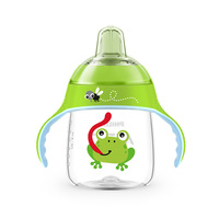 AVENT 260 ml/9 oz de Bande Dessinée Bébé Bec Souple Tasse D'eau Potable BPA livraison Bouteille Alimentation Des Enfants Tasse pour 12 m + Bébé Voyage Scolaire en utilisant