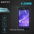 Для Sony M2 2.5D 0.26 мм 9 H Премиум Закаленное Стекло Для Sony Xperia M2 Экрана Анти Shatter Защитная Пленка 2 М
