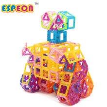 Mini 244pcs Magnetic Building Blocks Kids Model Building Toys Construction Magnetic Designer Toys For Children Enlighten Brick