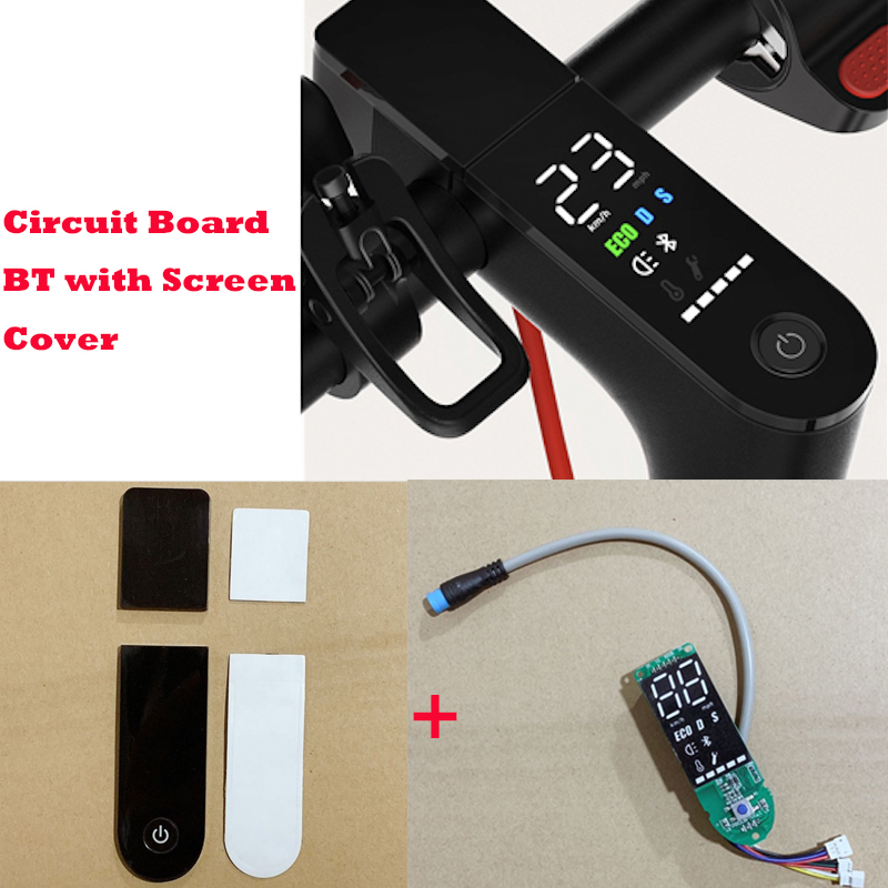 Xiaomi M365 Pro Scooter Circuit Board BT with Screen Cover Xiaomi M365 Scooter Pro Dashboard Circuit Board Parts M365 Accessory remote control charging helicopter