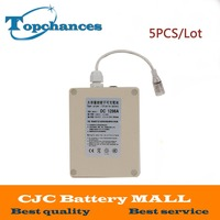5PCS High Quality New Waterproof DC 12V 9800mah DC 1298A Rechargeable Li Ion Lithium Battery Batteries