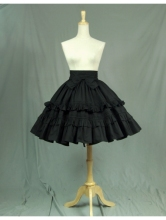 Black Bow Classic Sweet Lolita Short Skirt