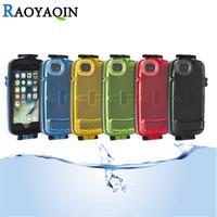 IP-68 Wodoodporne Pływać Nurkowania Przypadku Dla iPhone 7 Plus 6 6 s Pokrycie iphon 6/6 s/6 plus/6 s plus/7 plus Podwodne 10 m Telefon przypadki