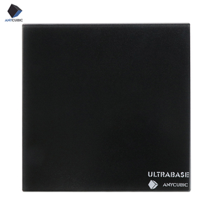 Image 2 - ANYCUBIC Ultrabase для 3D платформа для печати с подогревом кровать сборная поверхность стеклянная пластина для MK2 MK3 Горячая