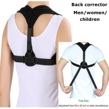Upper Back Posture Corrector Clavicle Support Belt Back Slouching Corrective Posture Correction Spine Braces Supports Health aolikes back posture corrector clavicle support belt back slouching corrective posture correction spine braces supports health