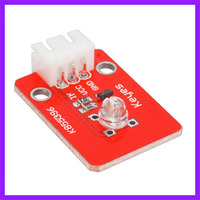 2pcs/lot With 3PIN DuPont Line Strawhat LED Sensor Module For Arduino