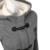 Chaqueta de invierno Mujeres Con Capucha Botón de la Bocina Abrigo de Invierno Moda Otoño Mujeres Parka Abrigos Abrigos Y Chaquetas Mujer Invierno 2016