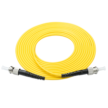 10pcs ST/UPC-ST/UPC  Simplex 9/125 SingleMode SM Fiber Optic Cable Patch Cord Jumper