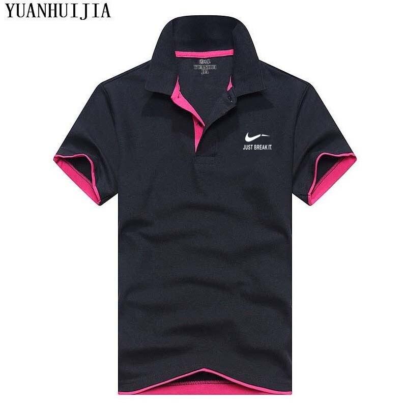 2018New Brand Men's   Polo   Shirt For Men Desiger   Polos   Men Cotton Short Sleeve shirt Clothes jerseys golftennis Plus Size M- XXXL