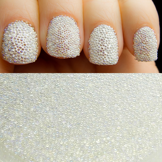 10gbottle Ab Color Nail Art Trend 06mm 08mm Nail Caviar Beads