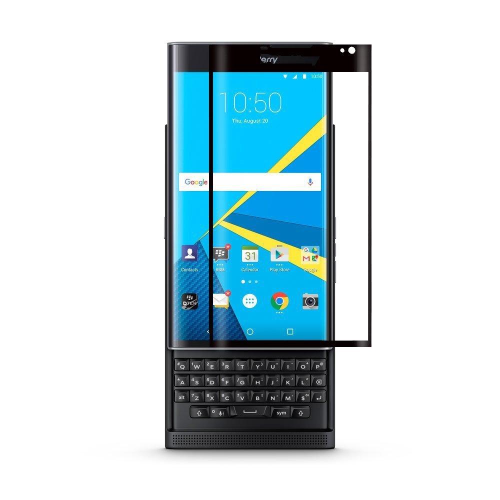 Screen Protector For Blackberry Priv SUNDATOM Premium 3D Full Cover Touch Tempered Glass Ultra Thin Explosion-proof