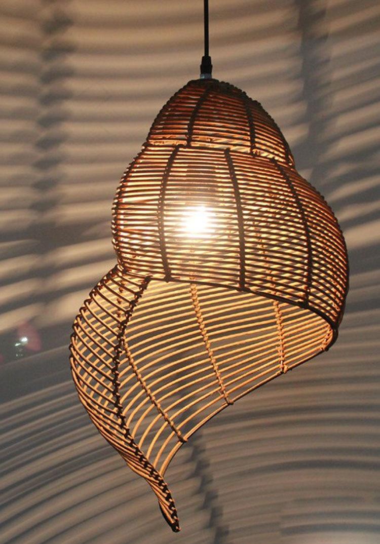 Pendant Light Rattan