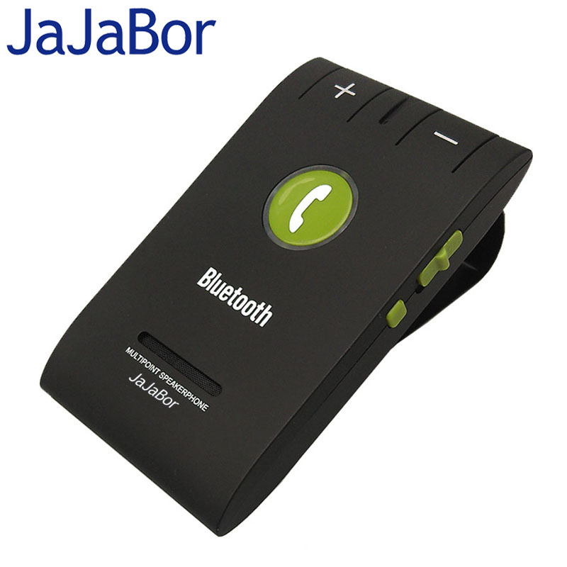 все цены на JaJaBor Universal Hands Free Calling MultiPoint Speakerphone Wireless Bluetooth Car Kit with Microphone Bluetooth V4.0+EDR онлайн