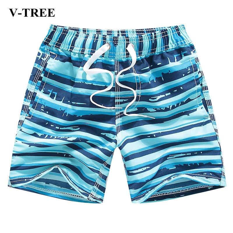 Summer Swimming Trunks For Boys Fashion Boys Swimwear Kids Swimsuit Cartoon Kids   Shorts   3-14 Years Beach Clothing