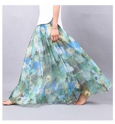 2016-New-Chiffon-Skirt-Summer-bohemian-Floral-Print-Beach-Maxi-Pleated-flower-Long-Skirt-For-Women.jpg_640x640