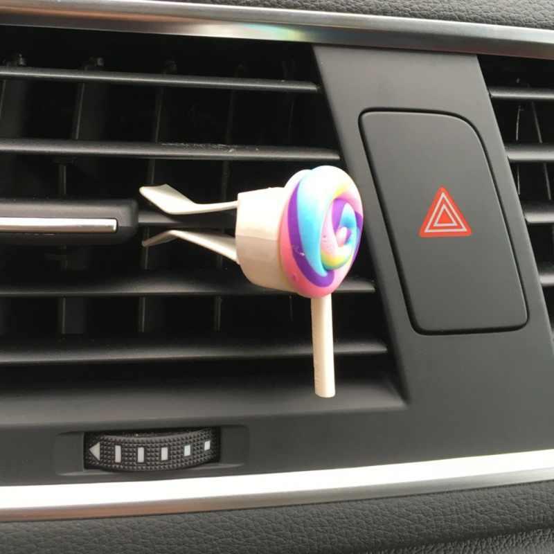 רכב אוויר מטהר חמוד אוויר לשקע קישוט עבור גברת/ילדה אוטומטי בושם רכב אבזר מכונית-סטיילינג מוצק ניחוח 9449 חדש