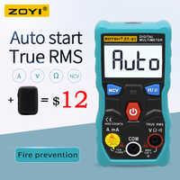 ZOYI ZT-S1 probador multímetro Digital lineal verdadero rms automotriz Mmultimetro con NCV retroiluminación de la pantalla LCD + linterna como RM403B