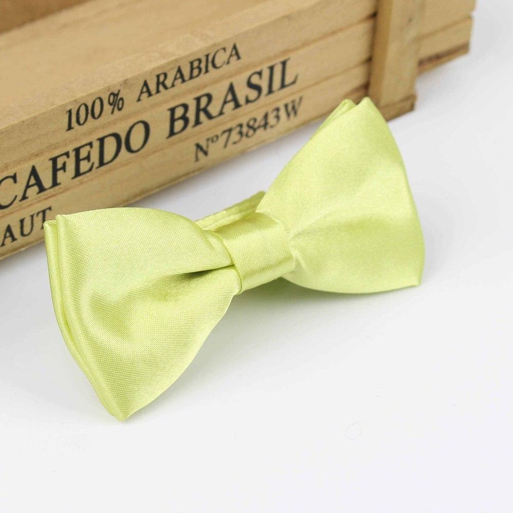Детский Модный деловой классический однотонный костюм с бабочкой для свадебной вечеринки, Детский костюм, смокинг, галстук-бабочка для домашних питомцев - Цвет: 6