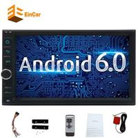 7''Car Stereo Android 6.0 Double Din GPS In Dash Auto Radio Car Entertainment WiFi/1080P Video/Mirrorlink/Steering Wheel Control