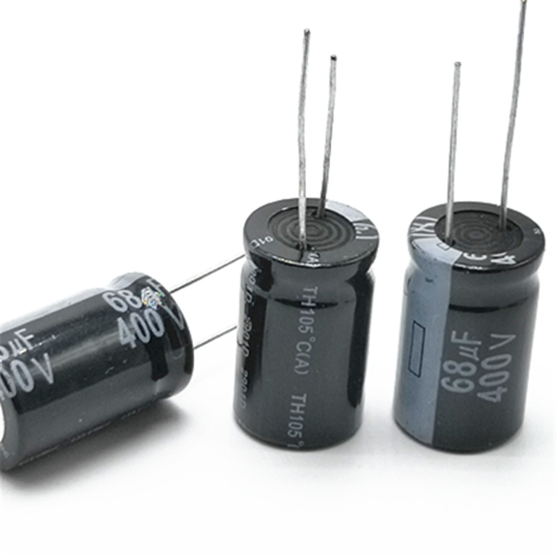 20pcs/lot 400V 68UF  16*25 20% RADIAL Aluminum Electrolytic Capacitor 68000NF 20%