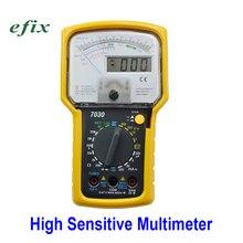 Высокочувствительный указатель цифровой дисплей мультиметр Прецизионный Многофункциональный тестер Амперметр Сопротивление тока напряжение AC DC 703