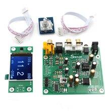 Новый ES9038 Q2M декодер DAC DSD поддержка IIS DSD 384 кГц коаксиальное оптоволокно DOP для Hifi усилителя аудио с OLED Бесплатная доставка