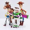 4 unids/set 12-18 cm Toy Story 3 Buzz Lightyear Woody Jessie PVC Figuras de Acción Juguetes Muñecas Niños Juguetes Modelo Niños Regalos de colección