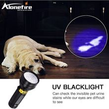 3XAA Aluminium Invisible Blacklight Ink Marker 51LED 51 LED UV Ultra Violet Flashlight Torch Light Lamp