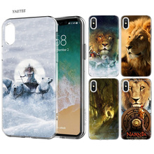 Fundas Print Silicone Phone Case For Apple iPhone 6 6S 7 8 Plus X 10 XS MAX XR 5S 5 5C SE TPU Cover The Chronicles of Narnia навесной монитор на подголовник ergo er10an android 6 беспроводные наушники в подарок