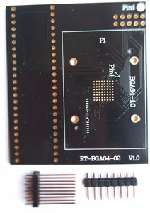 Image 5 - RT BGA64 01 v2.0 emmc nw267 bga64 소켓 어댑터 피치 1.0mm 11x13 리미터 framer for rt809h 프로그래머