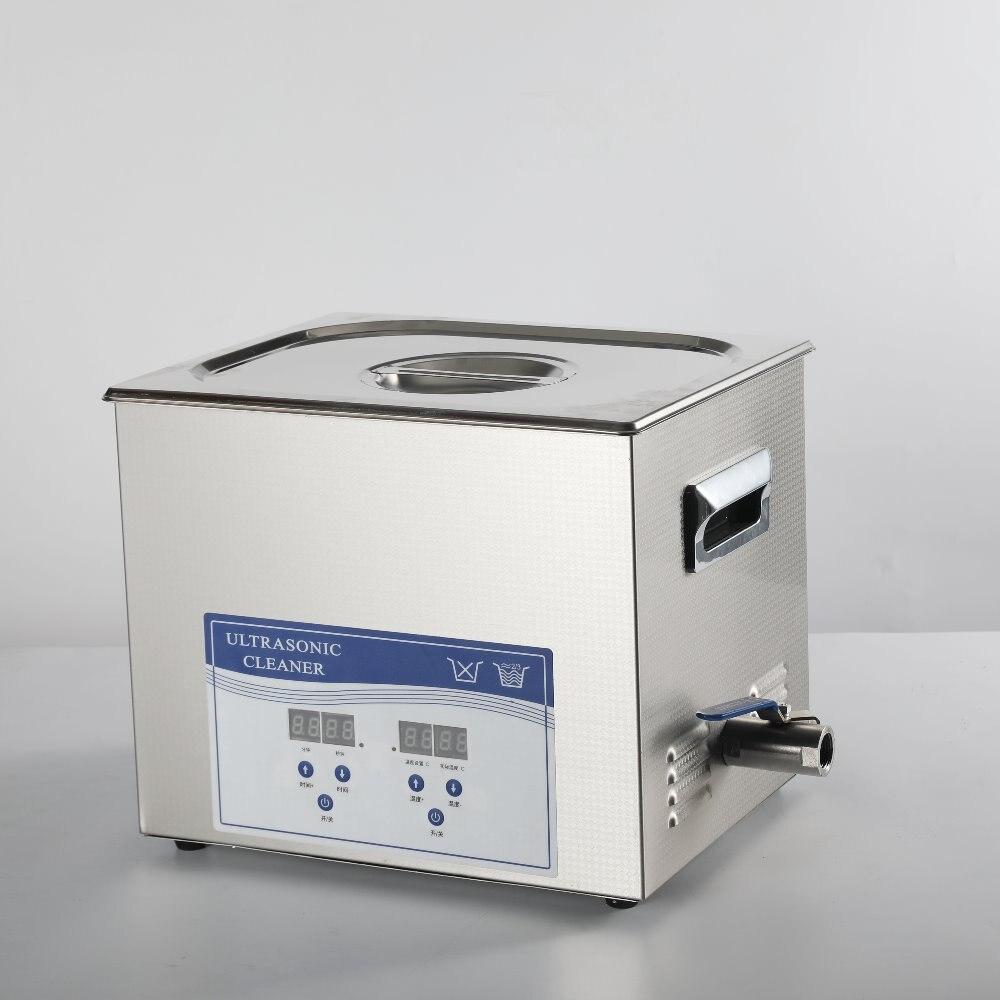 Carburateur à ultrasons chauffé nettoyeurs 2l machine de nettoyage de fréquence