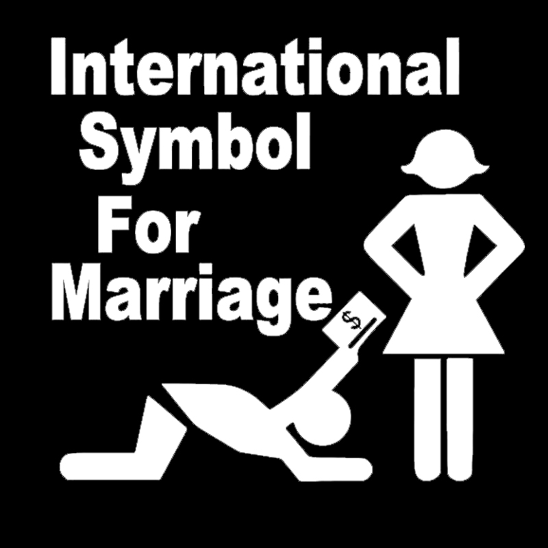 International sign for marriage