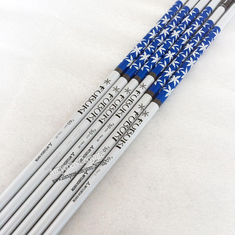 New Golf Clubs Shaft FUBUKI K50 X5ct Golf Wood Driver Shaft 8pcs/lot Graphite Golf Shaft Regular Or Stiff Flex Free Shipping