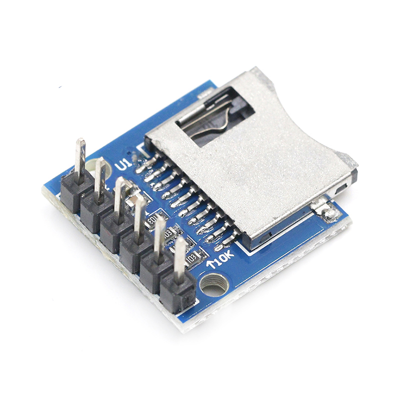 Micro SD Storage Expansion Board Mini Micro SD TF Card Memory Shield Module With Pins For Arduino ARM AVR
