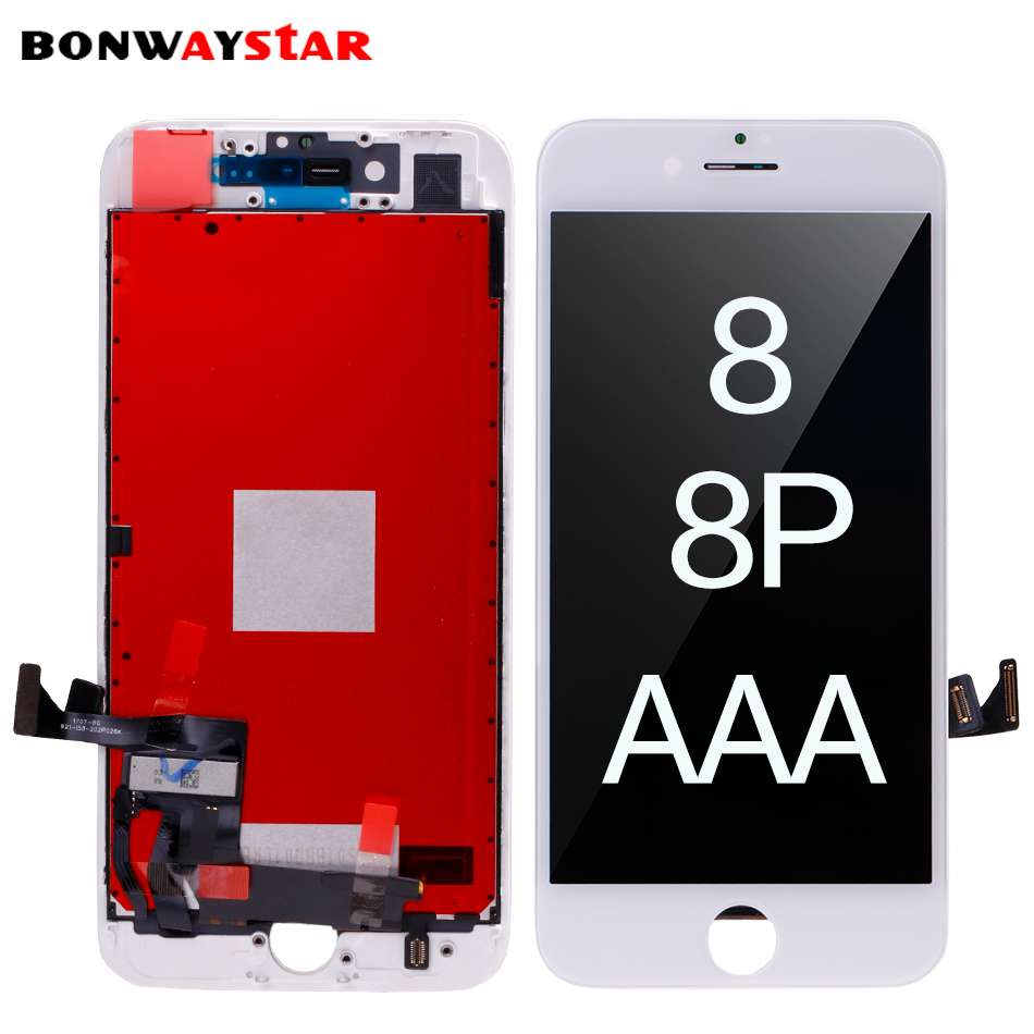 <font><b>LCD</b></font> Screen mould for <font><b>iphone</b></font> <font><b>8</b></font> 8plus Display <font><b>LCD</b></font> Screen Digitizer Assembly Replacement for <font><b>iphone</b></font> <font><b>8</b></font> plus 3D touch pantalla <font><b>ecran</b></font> image