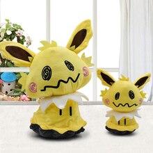 2018 Hot Anime Pikachu Q Jolteon Cute Plush Toys High Quality PP Cotton Stuffed Soft Dolls Toy and Children Funny Gitf