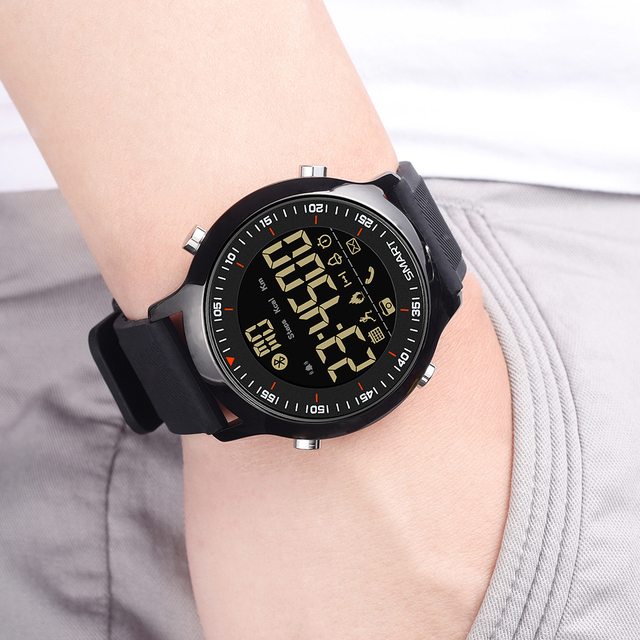 Bluetooth Clock Male Smart Watch 5