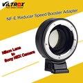 Viltrox Adaptador de Lentes Booster Focal Reductor De Velocidad Turbo w/Anillo de Apertura para nikon f lente para sony a7 a7r a7s a6300 a6000 NEX-7