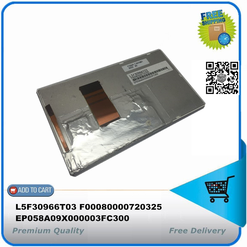 ( with track number ) LCD display panel 6.1 inch L5F30966T03 F00080000720325 EP058A09X000003FC300 715541 1 0310B1