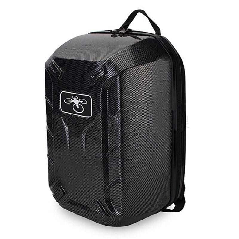 Newest Carbon Fibre colour Hard Shoulder Bag Backpack For DJI Phantom 2 3  Professional Advanced Standard Free Shipping 7aa7a97b192e8