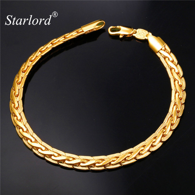 Starlord Vintage Bracelet GoldRose GoldBlack GunSilver Color