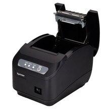 POS принтер Высокое качество 200 мм/сек. 80 мм термопринтер Кухня принтер Автообрезки принтер с USB + Последовательный/Lan Порт
