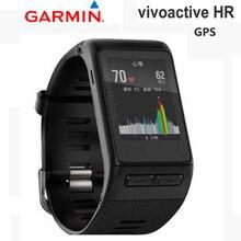 GPS garmin vivoactive HR Heart Rate Rastreador Smartwatch bluetooth relógio inteligente ciclismo esportes ao ar livre de natação de golfe relógio gps