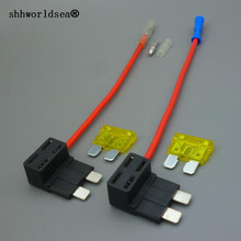Add A Circuit Fuse Tap Piggy Back Standard Blade Holder ATO ATC 12v 24v with 5A,10A,15A,20A.25A as a gift