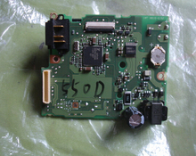 Camera Repair Parts for Canon EOS Rebel T2i / Kiss Digital X4 / 550D Power Board Flash Board